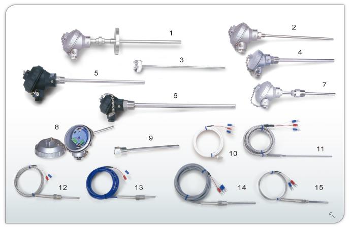 热电偶,热电阻 温度传感器(图)